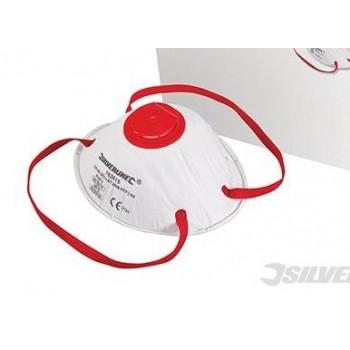 Masque respiratoire moulé à valve FFP3