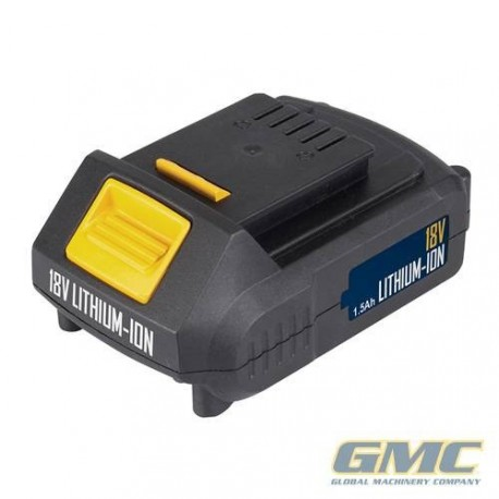 Batterie Li-Ion 18 V pour perceuse visseuse GMC