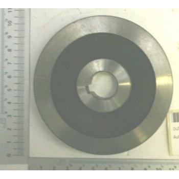 Flangia esterna per sega circolare tronchi (Kity PL5000, Scheppach HS510, Woodstar SW51, SW52)