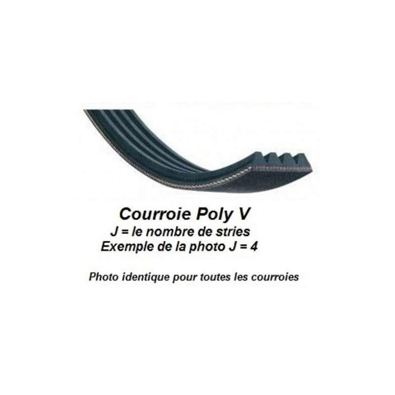 Belt Poly V 3PJ686 for wood lathe Scheppach DM460T
