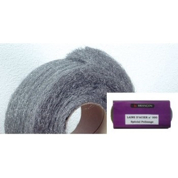Steel wool in skein-n° 000 for the polishing and encaustiquage (100gr)