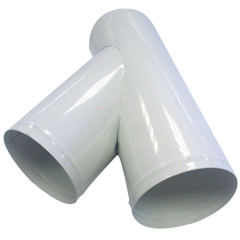 Bifurcated y-pipes 120 mm + 2 output 120 mm