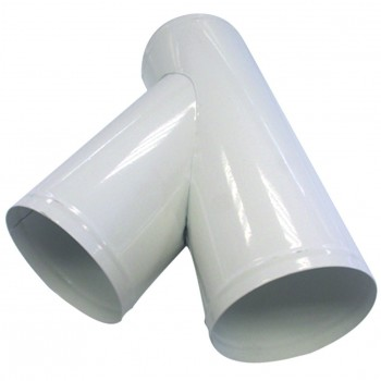 Y Raccordo di estrazione polvere 100 mm + 2 uscite 100 mm