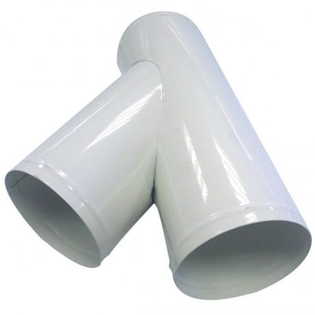 Culotte de bifurcation 100 mm + 2 sorties 100 mm