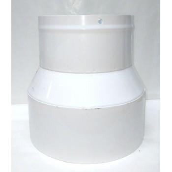 brida de reducción 150/120 mm (enlazar la manguera a la máquina)