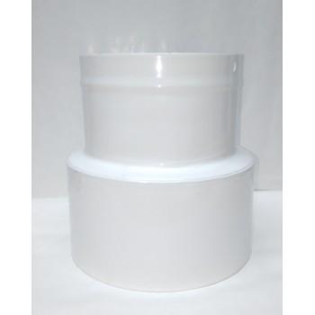 brida de reducción de 120/100 mm (para enlazar la manguera a la máquina)