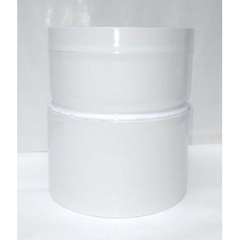 brida de reducción 100/100 mm (para enlazar la manguera a la máquina)