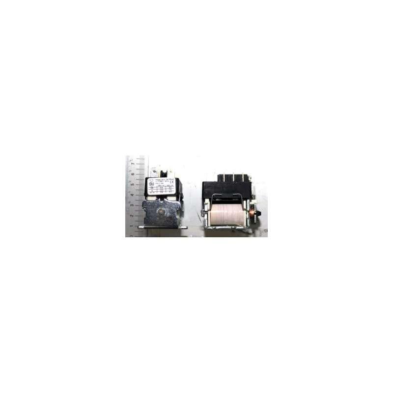 Contacteur noir 230V pour dégauchisseuse Kity 637, 1637 et toupie 609