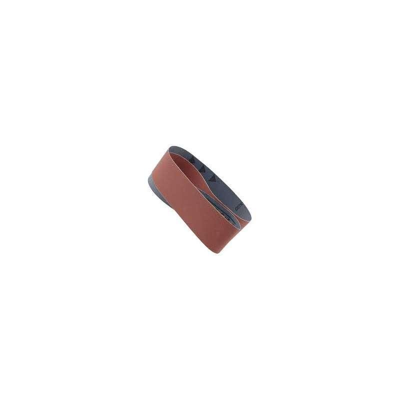 Banda abrasiva 100x915 mm grano 120 para lijadora de banda y disco