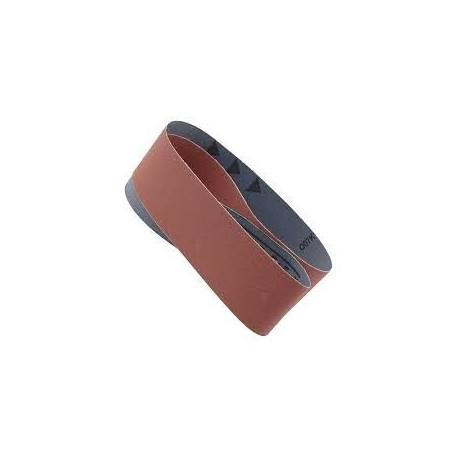 Nastro abrasivo 100x915 mm grana 120 per levigatrice a nastro e a disco