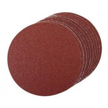 Disco abrasivo autoadherente 125 mm grano 60, 10 piezas