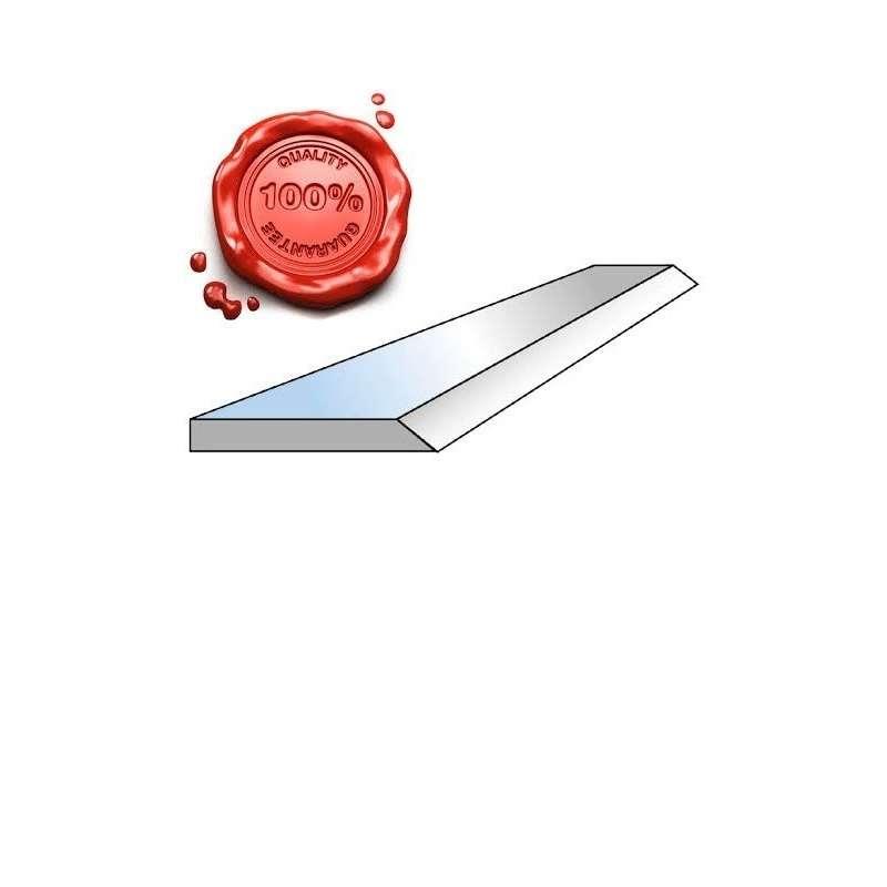 Fer de dégauchisseuse HSS 18% 260 X 20 X 2.5 mm