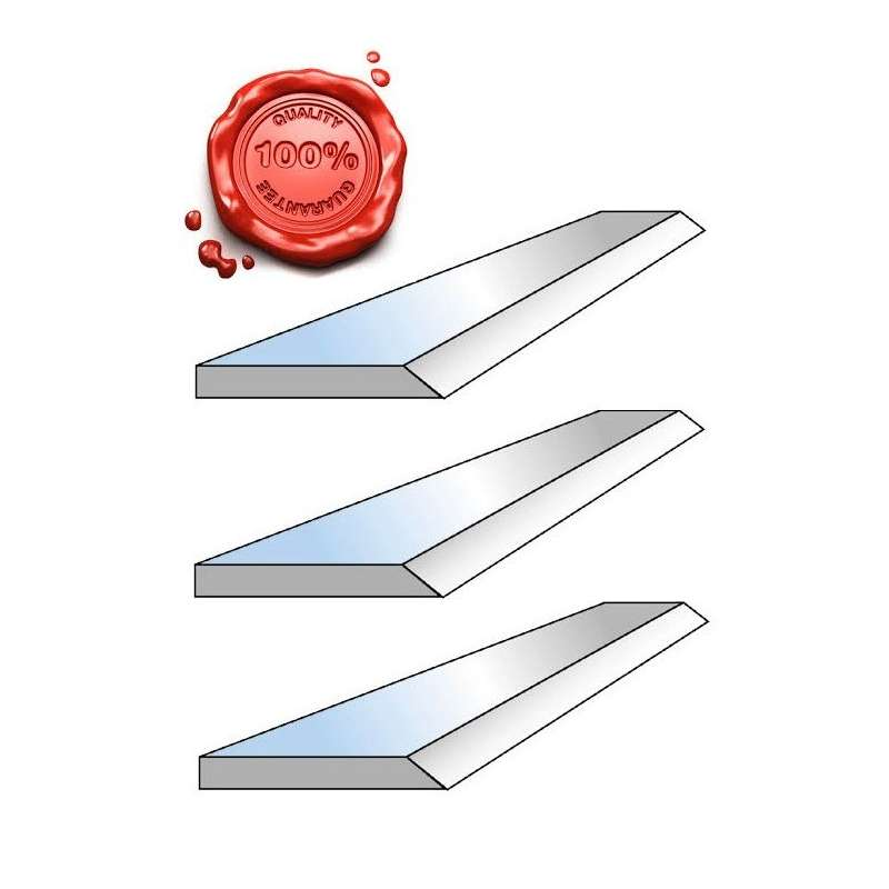 Planer knive 310 x 20 x 2.5 mm HSS 18% Top quality ! (Set of 3)