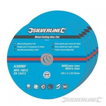 Lot de 3 disques à tronçonner pour métal diamètre 150X2.5X22.2mm