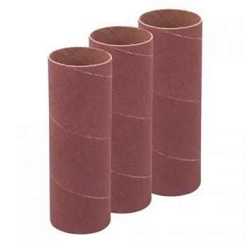 Rodillo abrasivo 114 mm para lijadora oscilante, grano 60, 3 diametros 38 mm