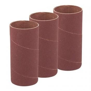 Rodillo abrasivo 114 mm para lijadora oscilante, grano 60, 3 diametros 51 mm