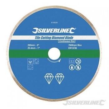 Disque diamant à bordure continue pour carreaux 200 mm
