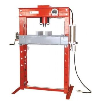 Pneumatic shop press 45 tonnes Holzmann WP45H
