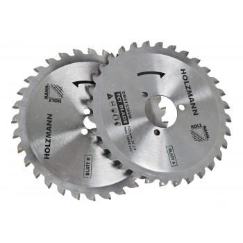 Lame carbure pour scie circulaire holzmann DBS25 (Qté 2) - 32 dents