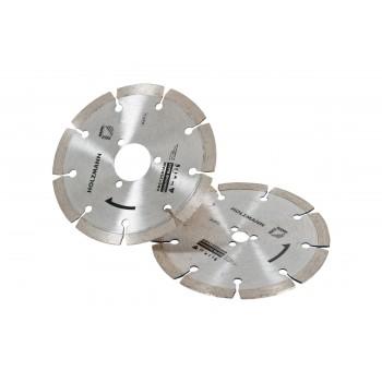 Disque diamant pour scie circulaire Holzmann DBS125 (qté 2)
