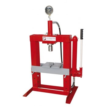 Presse d'atelier hydraulique 10 tonnes Holzmann WP10H