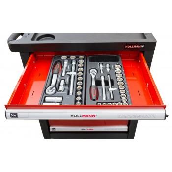 Tool trolley equipped with 391 tools Holzmann WW790W