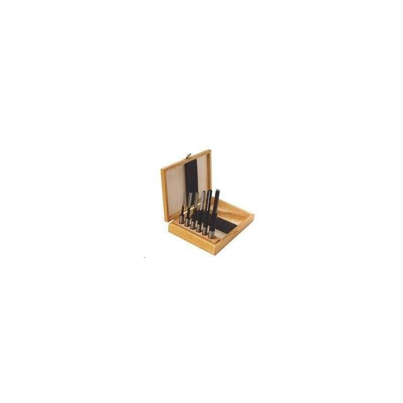 Set 6-teilig Nutlanglochbohrer mit spanbrecher schaft 13 mm - Rechtslauf