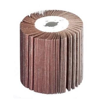 Rodillo abrasivo de la solapa de grano 60 para lijadora pulidora de metal SM100