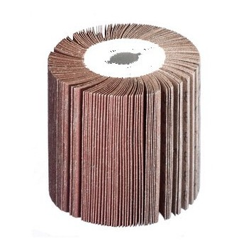 Roller abrasive flap grain 60 for sander polisher metal SM100