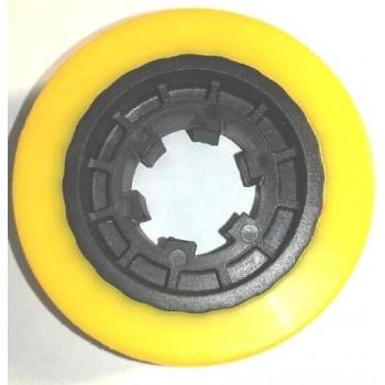 Galet pour entraineur de toupie 75 x 27 mm (Kity baby, VSHPM3 et autre marque)