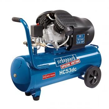 Compresseur 2 cylindres Scheppach HC53DC - 2200W