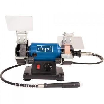Mini smerigliatrice Kity Scheppach HG34 + 100 accessori