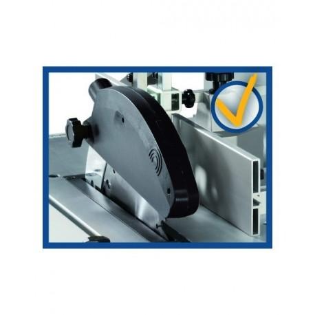 Mini combiné à bois Kity Scheppach Combi 6 avec accessoires + aspirateur à copeaux Scheppach HA1000