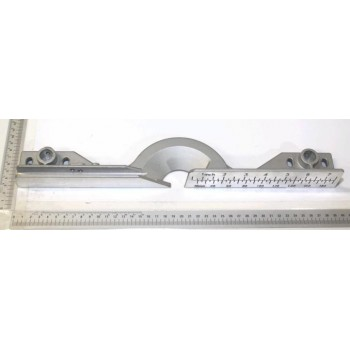 Guide sur scie à onglet radiale Scheppach MS216a