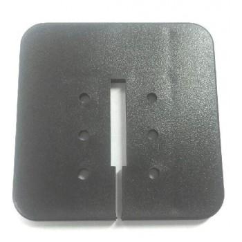 Platte für Bandsäge Kity 613F und 673 (Tabelle aus Gusseisen Stahl in U)