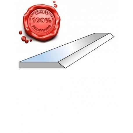 Fer de dégauchisseuse HSS 18% 410 x 25 x 2.5 mm