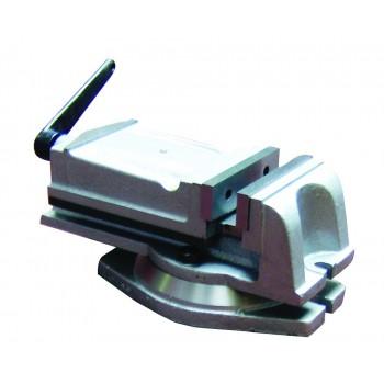Schraubstock einspannen und rotierenden Grundlage Holzmann 125i