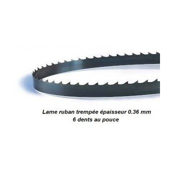 Lama per sega a nastro 2215 mm larghezza 6 mm Spessore 0.36 mm