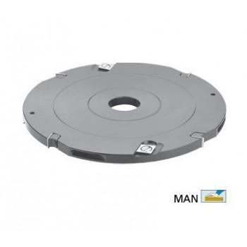 Werkzeughalter für nuten von 8 mm Ø 180  für Tischfräsen 50 mm