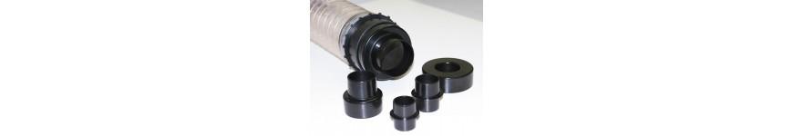 Reducers to vacuum chips - Probois machinoutils