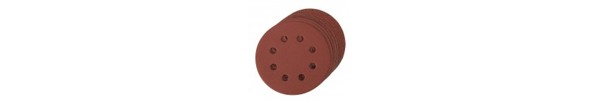Abrasive disc hook and loop perforated 125 mm - Probois machinoutils
