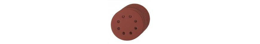 Disque abrasif velcro perforé diamètre 125 mm pour ponceuse à disque