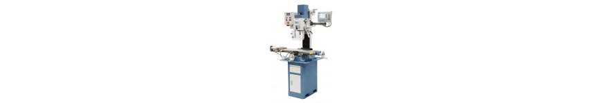 Perceuse fraiseuse métal avec avance automatique et affichage digital - Probois machinoutils