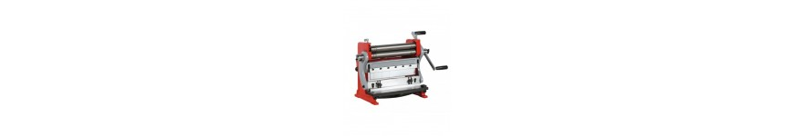 Machine metal 3-in-1 ! Shearing machine, thread rolling machine and folding machine - Probois machinoutils