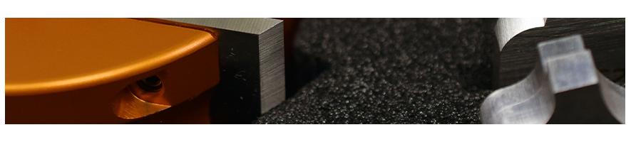 Profile knives and limiters for moulder - Probois machinoutils
