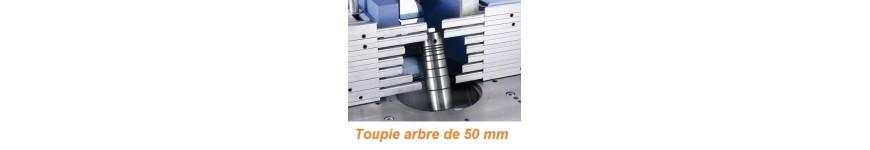 Outils de toupie pour arbre de 50 mm - Probois machinoutils