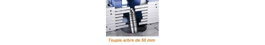 Tools for spindle moulder bore 50 mm - Probois machinoutils