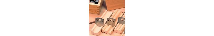 Fers de toupie hauteur 40mm et contre-fers - Probois machinoutils