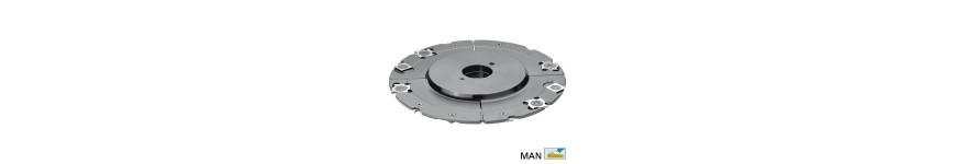 Grooving cutter spindle moulder 50 mm - Probois machinoutils
