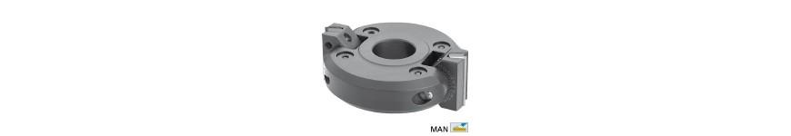Adjustable chamfer cutter heads bore 50 mm - Probois machinoutils